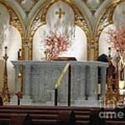 Main Altar Saint Jospehs Cathedral Buffalo New York Art Print