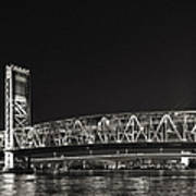 Main Street Bridge Jacksonville Florida Art Print by Christine Till