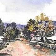 Main Street Ukarumpa Art Print