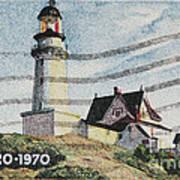 Maine 1820-1970 Art Print