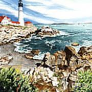 Maine Attraction Art Print