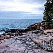 Maine Coastline Art Print