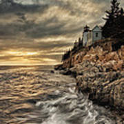 Maine Lighthouse Art Print