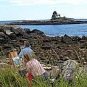 Mainie Seascapes Art Print