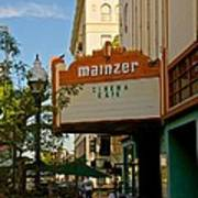 Mainzer Theater Art Print