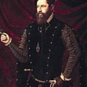 Ma�ip, Vicente 1480-1550. Portrait Art Print