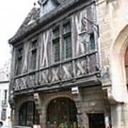 Maison Milliere - Dijon - France Art Print