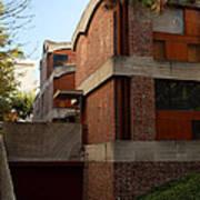 Maisons Jaoul - Le Corbusier Art Print by Peter Cassidy