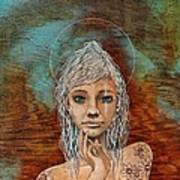 Majestic Girl #1 Art Print