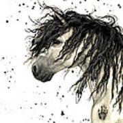 Majestic Grey Spirit Horse #44 Art Print