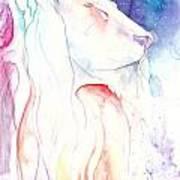 Majestic Lion Art Print