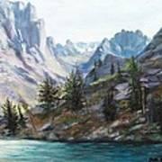 Majestic Montana Art Print