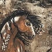 Majestic Mustang Series 61 Art Print