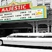 Majestic Night At The Show Art Print