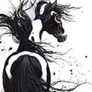 Majestic Pinto Horse Art Print