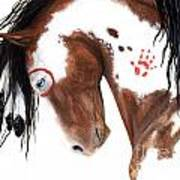 Majestic Pinto Horse 129 Art Print
