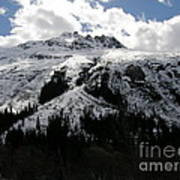Majestic Skagway Mountaintop Art Print