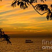 Majestic Sunset Art Print