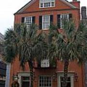 Major Peter Bocquet House Charleston South Carolina Art Print