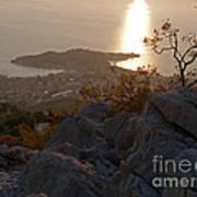 Makarska - Evening Light Art Print