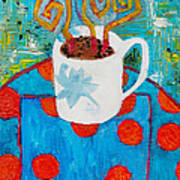 Coffee  By Janelle Dey Art Print