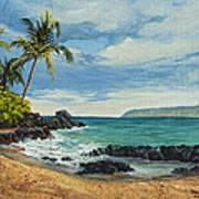 Makena Beach Art Print