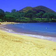 Makena Beach Maui Hawaii Art Print