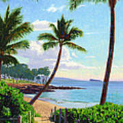 Makena Beach - Maui Art Print