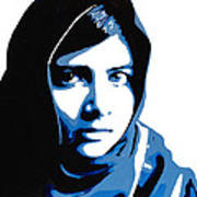 Malala Yousafzai On Friday Art Print
