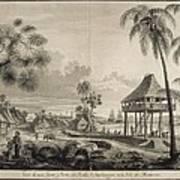 Malaspina Expedition. Philippines 1792 Art Print