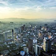 Malaysia Aerial Art Print