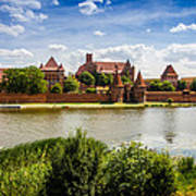 Malbork Castle Art Print