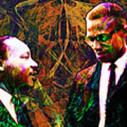 Malcolm And The King 20140205 Art Print by Wingsdomain Art and Photography