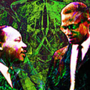 Malcolm And The King 20140205p68 Art Print