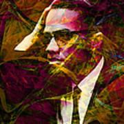 Malcolm X 20140105 Art Print