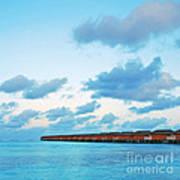 Maldives Resort Art Print
