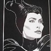 Maleficent2 Art Print