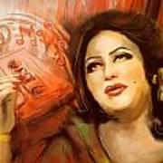 Malika Tarranum Art Print