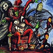 Malinda Circus Art Print