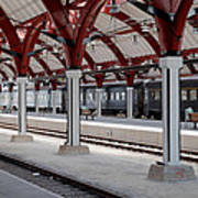 Malmo Train Station Art Print