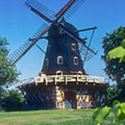 Malmo Windmill Art Print