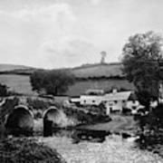 Malmsmead Bridge, C1900 Art Print