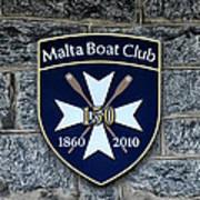 Malta Boat Club Art Print