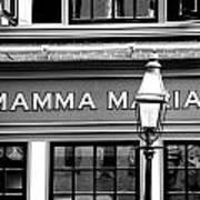 Mamma Mia Art Print