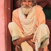 Man From India Art Print