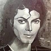 Man In The Mirror Art Print by Belinda Low