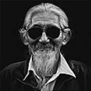 Man With White Beard Art Print