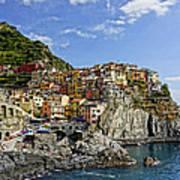Manarola Italy Dsc02563  Art Print