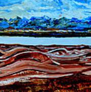 Manas Sarovr Lake-19 Art Print