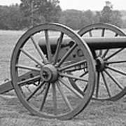 Manassas Battlefield Cannon Art Print